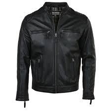 leather jacket black bristol