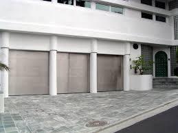 stainless steel garage doors