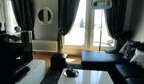 Salon Noir Deco Blanc Rouge Bleu Viol Inspirations Cool Pour D Ivory