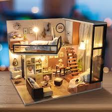 aliexpresscom buy 112 diy miniature doll house. New Diy Miniature Dollhouse Wooden Handmade Doll Houses Furniture  Model Kits Box Toys For Aliexpresscom Buy 112 Diy Miniature Doll House AliExpress