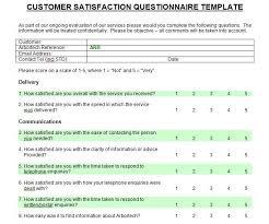 Printable Survey Template Printable Customer Satisfaction Survey Template Microsoft Word