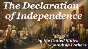 「us declaration of independence full text」の画像検索結果