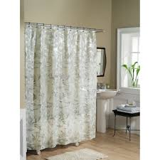 Decorative Accessories For Bathrooms Essential Home Shower Curtain Tea Leaves Vinyl Peva Home Bed