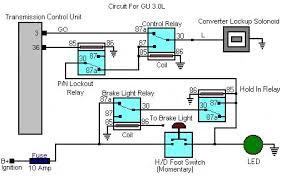 my gq manual torque converter lock up system lotts of photos