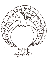 Turkey Coloring Pages Printable Templates Tagged