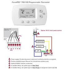 from a trane baystat a to a honeywell focuspro model honeywell will not use the t thermister terminal remember to config for multistage heatpump