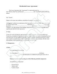 Simple Rental Contract Printable Lease Agreement Sample Camera ...