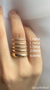 Popular Wedding Ring Width Comparison A Nice Visual In