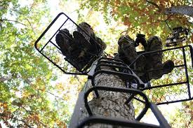 painter s seat or climbing tree stands are portable comfortable lightweight and very easy to set up and take down giving the hunter a dependable piece of