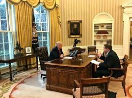 desk in white house oval office full transcript president trumps exclusive interview with trump c33 office