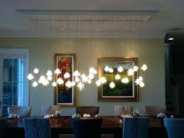 glass chandeliers for dining room chandelier for dining room chandelier over dining room table custom blown