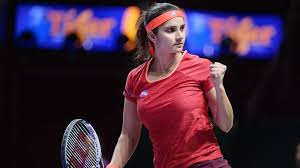 you be sania mirza or jennifer aniston but you re not  sania mirza of celebrates winning a set her partner martina hingis of switzerland as