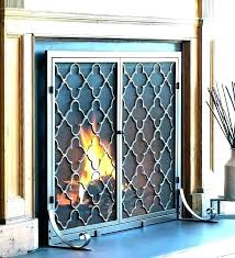 replacement fireplace doors fireplace glass