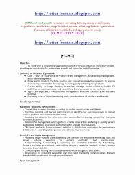 Resume Format For Mba Experienced Awesome Mba Experience Resume