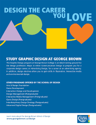 Interaction Design And Development George Brown George Brown College Poster By Sonia Mansillo At Coroflot Com