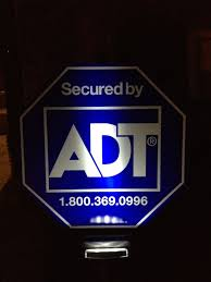 adt authorized dealer adt yard sign with solar light zions security alarms adt