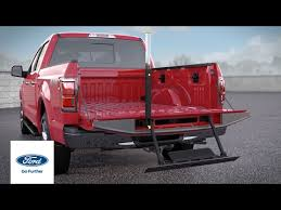Integrated Tailgate Step | Ford How-To | Ford - YouTube
