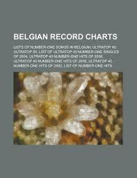 Belgian Record Charts Ultratop 40 Ultratop 50 De