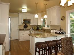 cabinet refacing white. Antique White Kitchen Cabinet Refacing With Light Brown Marble Top And Wicker Mini Bar Chairs T