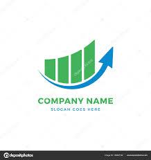 Growth Logo Design Arrow Growth Logo Design Stock Vector Graphicgum 185687192
