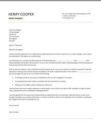 construction project manager cover letter project manager cover letter example henry cooper