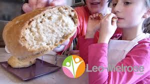 recette de pain maison sans levure boulanger cuisson au four