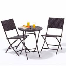 small outdoor dining set with folding table small outdoor table and chairs nz