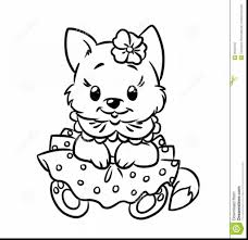 Small Picture Good Cute Kitten Cat Coloring Page With Kittens Coloring Pages