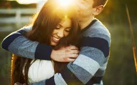 happy hug day beautiful couple hd wallpaper