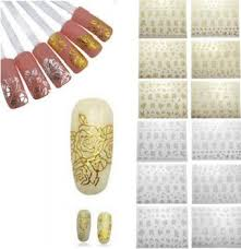 flower nail art stickers