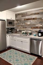 40 Frugal And Creative Kitchen Backsplash DIY Projects Hative Amazing Wood Stove Backsplash Creative