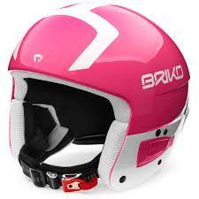 Briko Vulcano Fis 6 8 Helmet Shiny Pink White Amazon Co Uk