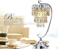 chandelier table lamps brilliant chandelier rock crystal lamps crystal chandelier table lamp intended for small crystal