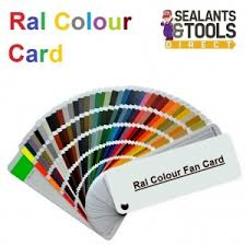 Ral K7 Colour Chart K7 Classic Ral Colour Swatch Card