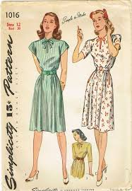 Vintage Simplicity Patterns New 48s Original Vintage Simplicity Pattern 48 Simple Uncut Misses