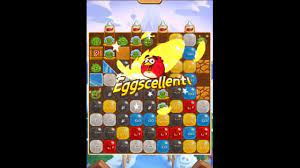 Angry Birds Blast Level 293 - NO BOOSTERS 🎈🐦🎈🐦 - YouTube