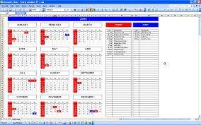 Microsoft Excel Calendar Template Office Spreadsheet