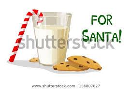 cookies for santa clip art. Modren Cookies A Glass Of Milk And Cookies For Santa Inside Cookies For Clip Art