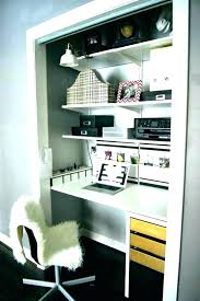 Home office closet ideas Workspace Small Closet Office Ideas Closet Office Ideas Office Closet Ideas Closet Office Space Home Office Neginegolestan Small Closet Office Ideas Home Office Closet Closet Desk Ideas Small