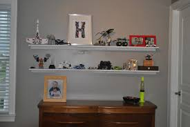 large white two tiers floating shelves over dresser 16 cool designs of large floating shelves