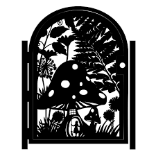 handmade decorative steel garden