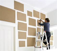 Hanging pictures on a blank wall can be rough, especially with all of the  hit-and-miss involved in aligning your frames and hammering in your nails.