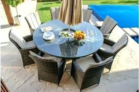 round outdoor table setting full size of round rattan garden table set and chairs maze