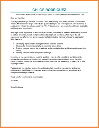 Executive Cover Letter Good Resume Examples