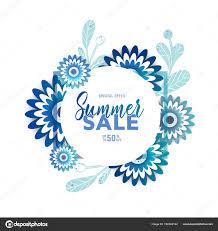 明るい夏販売バナートレンディなデザインのポスター ストック