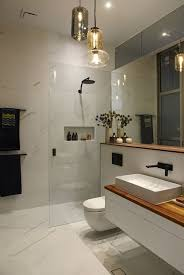 modern bathroom lighting ideas. Creative Modern Bathroom Lights Ideas You\u0027ll Love. MELBOURNE, AUSTRALIA - 9TH JUNE 2014;Contestants Of The Block 2014 Reveal Room 8 Lighting D