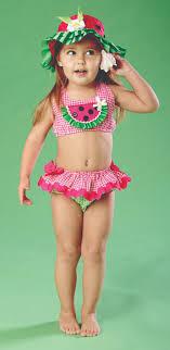 Little Girls Watermelon Bikini Swimwear - Givemart - Where your ...
