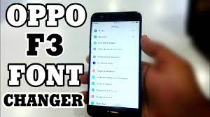 Oppo F3 Font Changer - YouTube