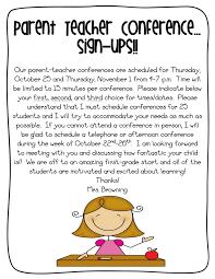 parent teacher conference letters parent teacher conference letter insaat mcpgroup co