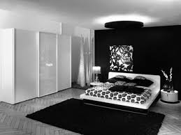 bedroom white wooden bed with white black fl bed sheet placed on the black fur